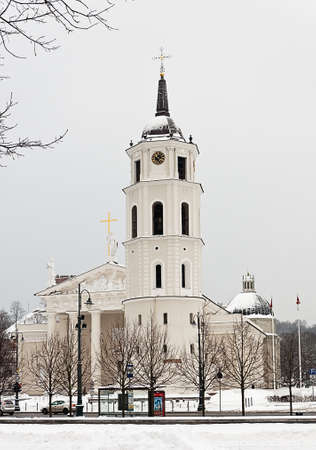 Cathedral in Vilnius, Lithuania