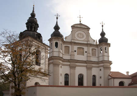 fasade: The fasade of St. Mykolo church