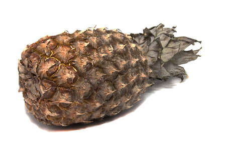 pineapple on white background Stock Photo - 17169760
