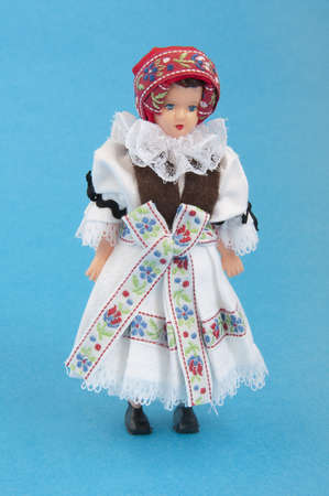 doll in national costume Stock Photo
