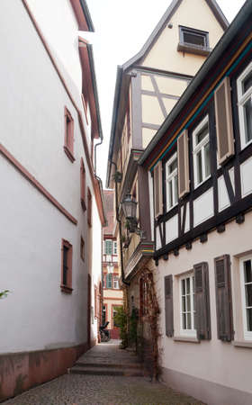 Ancient Street in Ladenburg, Germany