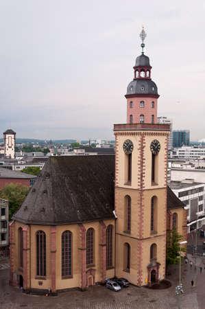 Katharinenkirche at Hauptwache plaza in Frankfurt am Mine