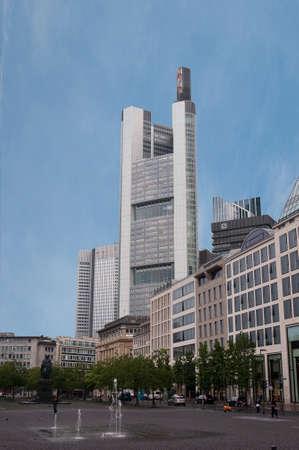 a business center in Frankfurt am Main