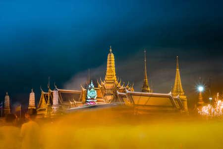 the grand palace: at 5 December 2014 Grand Palace, Bangkok, Thailand Editorial