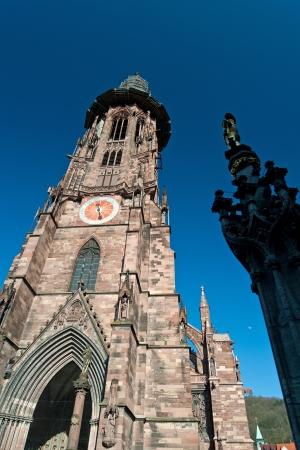 freiburg: Freiburg Minster Stock Photo