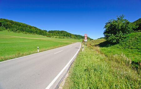 Road in Southern Germany photo