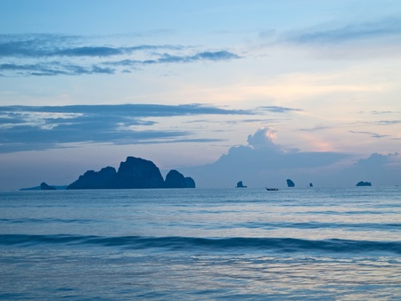 View from Ao Nang to Poda Island photo