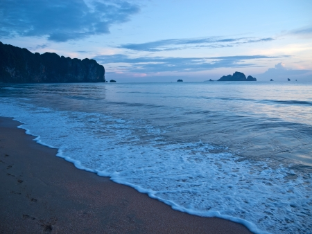 Beach at Ao Nang, Thailand photo