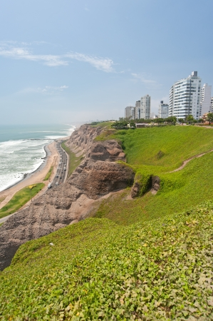 miraflores district: Costa Verde, Lima