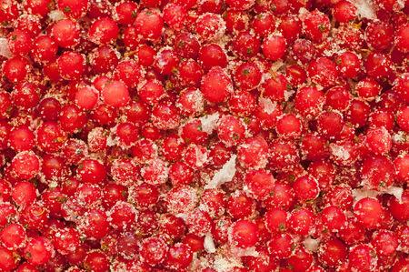redcurrant: Redcurrant with sugar