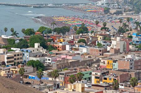 Lima, Peru  District of Chorrillos Stock Photo