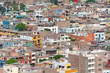 miraflores district: Lima, Peru  District of Chorrillos Stock Photo