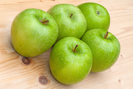 granny smith: Green Granny Smith Apples