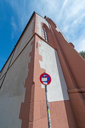 freiburg: St  Martin s Church, Freiburg Stock Photo