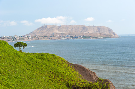 miraflores district: Lima, Peru. Stock Photo