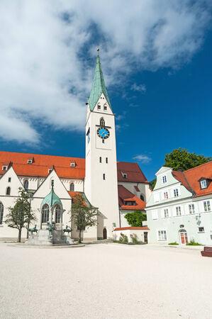mang: St. Mang Church Kempten, Germany.