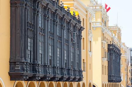 lima: Historic Lima Peru Editorial