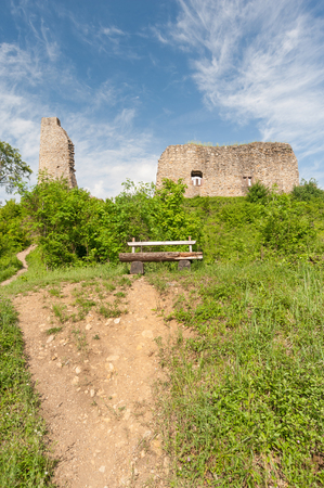 old  ruin: Old ruin in the Black Forest