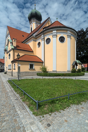 nikolaus: Church in Immenstadt, Southern Germany