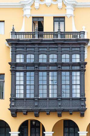 historic: Historic building in Lima, Peru