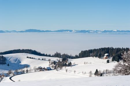 black forest: Black Forest and Vosges Stock Photo