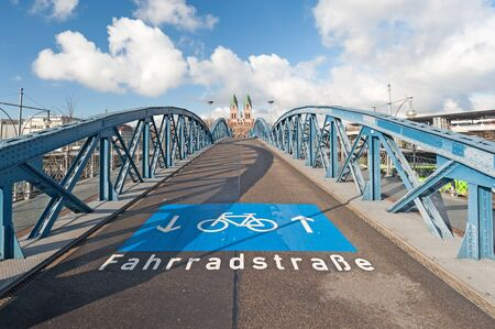 Bicycle boulevard, Germany