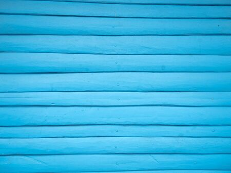 painted wood: Blue wooden wall Stock Photo