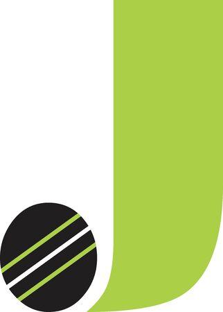 Letter J Logo Logó