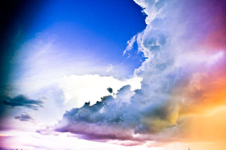 machtige: Mighty cloud Stockfoto