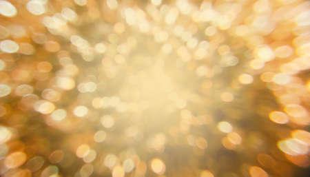 gold: Bokeh background Stock Photo