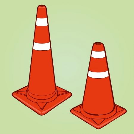 traffic cone Stock Vector - 16028794