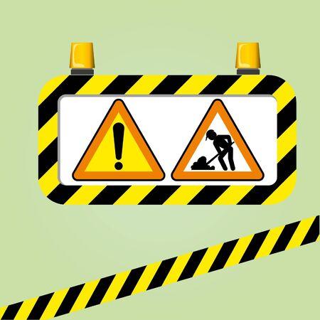 warning sign Stock Vector - 16028765
