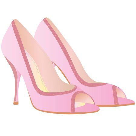 high: high heel shoe