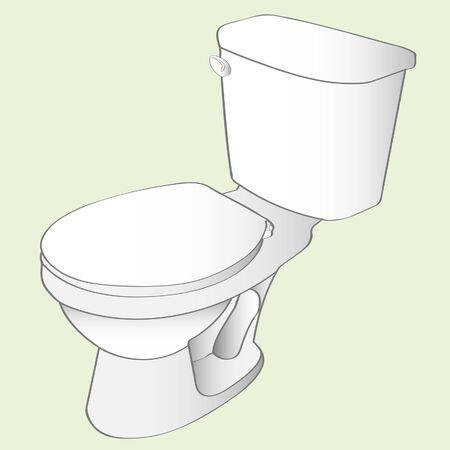 toilet Stock Vector - 16712488