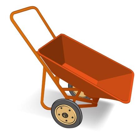 wheelbarrow vector Stock Vector - 16767535