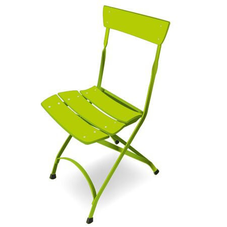 folding chair  Stock Vector - 16883430