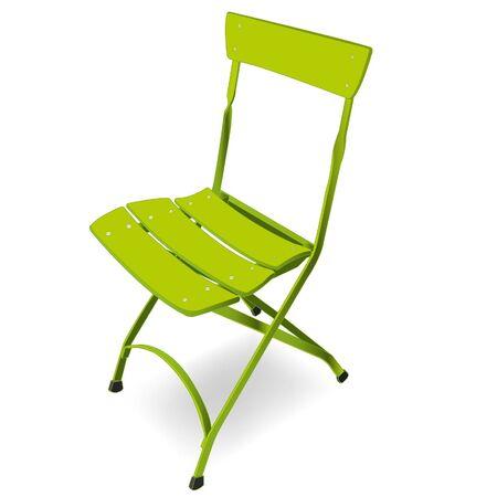 folding chair Stock Vector - 16883430