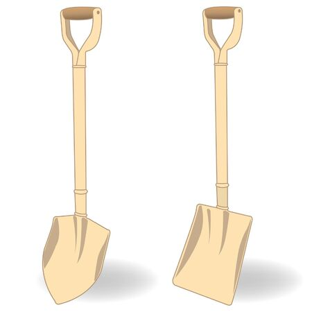 shovel  illustration Stock Vector - 17114963