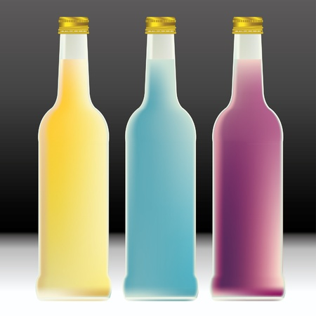 blank soda bottles Stock Vector - 17473483