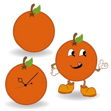 orange cartoon Stock Vector - 18066152