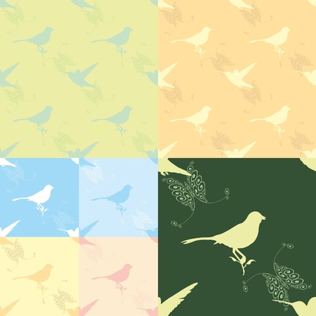 bird pattern Stock Vector - 18276136