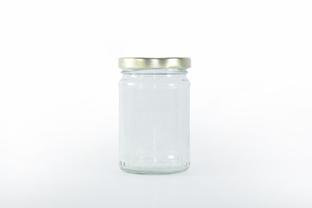 pasteurized: glass bottle Stock Photo