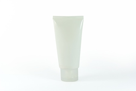Cream Tube Stock Photo - 18754697