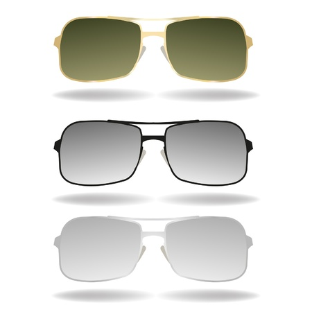 sunglasses illustration Stock Vector - 19279770