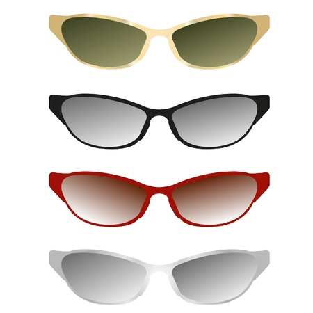 sunglasses illustration Stock Vector - 19279765