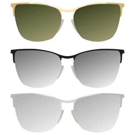 sunglasses illustration Stock Vector - 19279775
