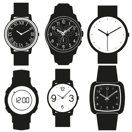 lady clock: watch