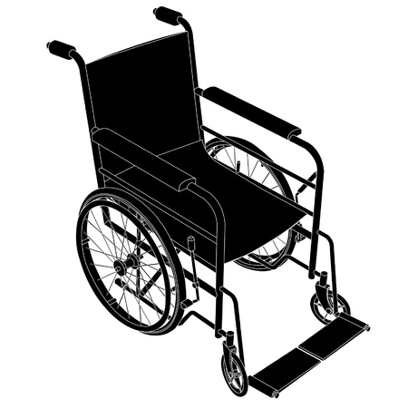 transference: wheelchair Illustration