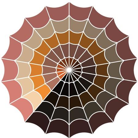 cobweb line art