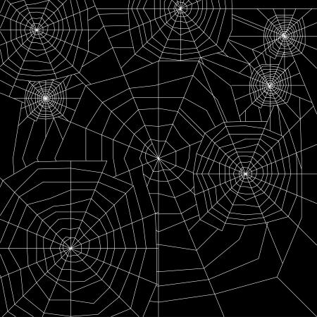 cobweb silhouette  Stock Vector - 19604268